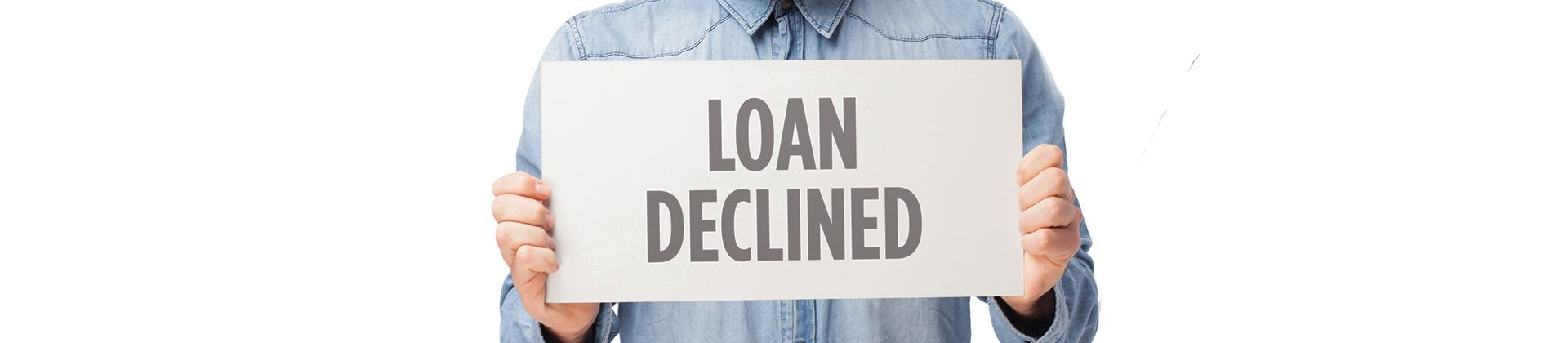 What to do if your loan application is refused